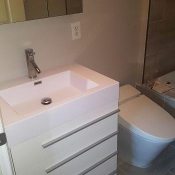 Bathroom remodeling, Downtown Baltimore