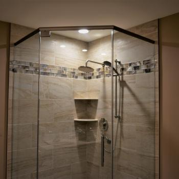 Build custom shower Timonium
