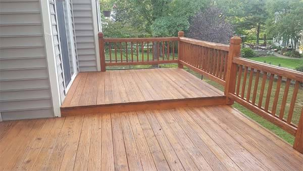 Wood Deck Building
